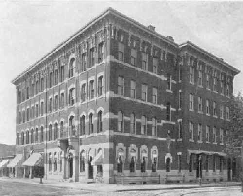 Cambridge Trust Co. from Souvenir History of Chester, PA 1903, courtesy of Terry Redden Peters