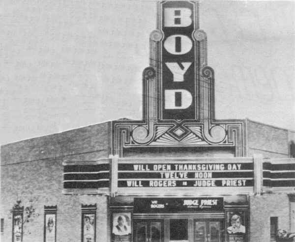 Boyd Theater; Photo couresty of David Andrews