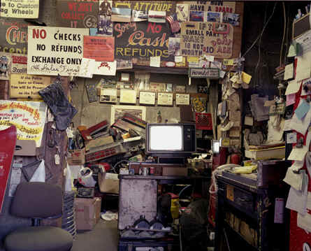 Joe's Junkyard Office; Photo courtesy of Joe's granddaughter, Lisa Kereszi