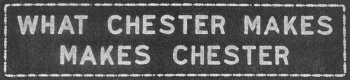 Chester Sign; Photocopy courtesy of Delaware County Historical Society
