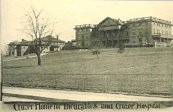 Crozer Hospital & Crozer Home for Incurables; Picture courtesy of Barry Durham