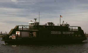 Chester Bridgeport Ferry; Photo by Dr. Stan Smith, courtesy of Dave Smith