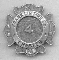 James O'Donnell's Badge; courtesy of Joe O'Donnell