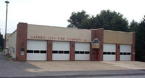 Garden City Fire House  Addition, 2000; Photo courtesy of William H. Crystle, 3rd