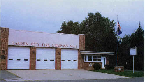 Garden City Fire Station Built 1968; Photo courtesy of William H. Crystle, 3rd
