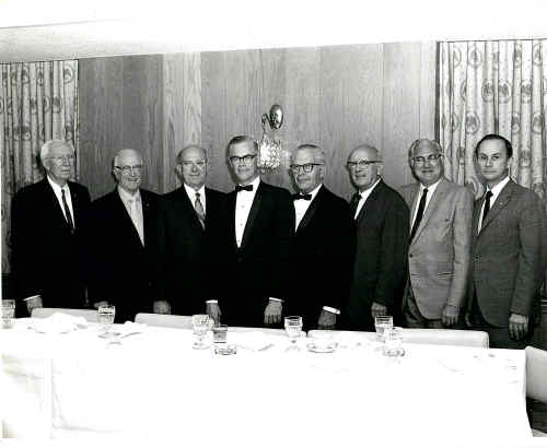 Former Presidents (1969); Photo courtesy of Bob Vaughan