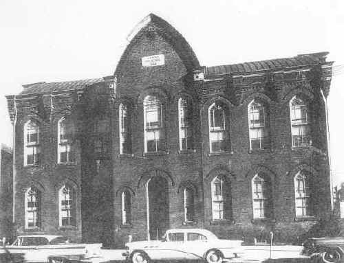 Starr School (Original Chester High School); Photo courtesy of Mr. Bill Dandridge & Freeman Enterprises Gallery