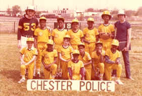 Chester Police Little League, 1979; Photo courtesy of Fred Ungarino