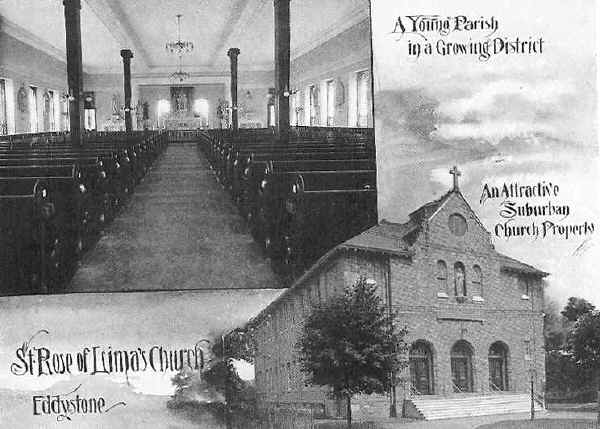 OldChesterPa: Churches: St. Rose of Lima Roman Catholic Church ...