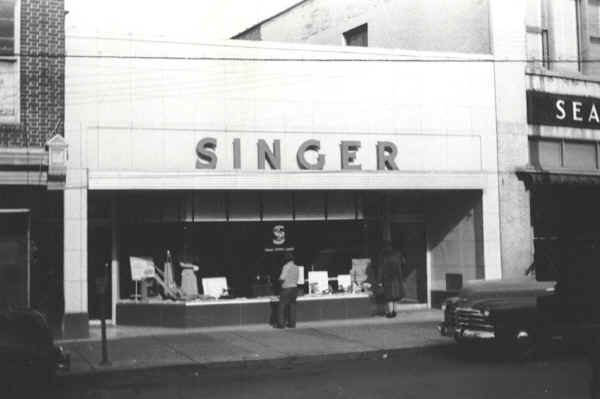 Singer Sewing Machine Store Photo Courtesy Of Mr Jack Swerman AIA Beauteous Singer Sewing Machine Retailers