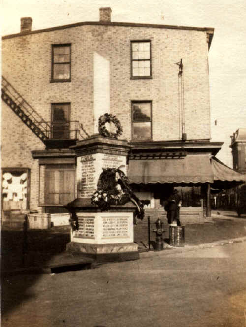 Chester Soldiers' Memorial, 1919; Photo courtesy of Tom Bulger