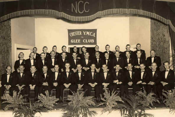 YMCA Glee Club c. 1940's; Photo courtesy of Ralph L. Hall